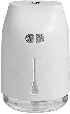 YYhkeby 240 ml Purificador de automóviles de Coche Atomizador gotitas de Agua Difusor Aroma Difusor USB Humidificador de Aire con luz de luz de luz LED Jialele
