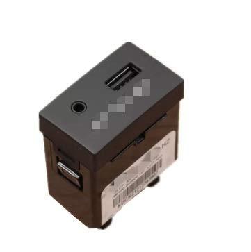 GUOPING ZHUQI Ajuste para AUX USB Reader iPod Aux Port Adapter Fit para Hyundai 2009 I30 961202R000 961202R500