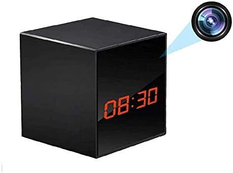 LIZVIE Hidden Spy Camera Clock Nanny Cam HD 1080P Wireless Surveillance Cameras for Home Security product image
