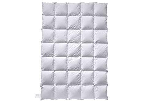 Billerbeck Soft-Down Mono Bettdecke, Baumwolle, weiß, 135x200