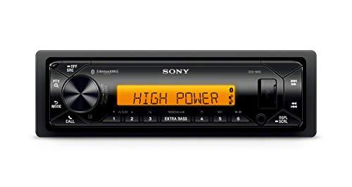 Sony DSX-M80 Marine Bluetooth Radio | 4x 100 Watt | Memory Back Up | Afstandsbediening | Geschikt voor boot