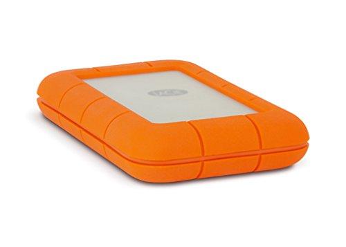 LaCie Rugged 1TB Thunderbolt and USB 3.0 Portable Hard Drive + 1mo Adobe CC All Apps (LAC9000488)