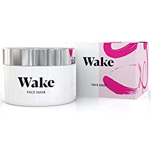 Wake Skincare Face Mask - Detox Pink Clay Mask, Anti Acne Treatment, Removes Blackheads & Reduces Pores, Natural Glow 7