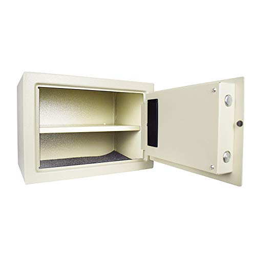 Caja Fuerte Portatil - Digital Safe Electronic All Steel Box con Teclado para Proteger Dinero Pasaportes JoyeríA para Negocio Comercial Hogar Hotel O Viaje
