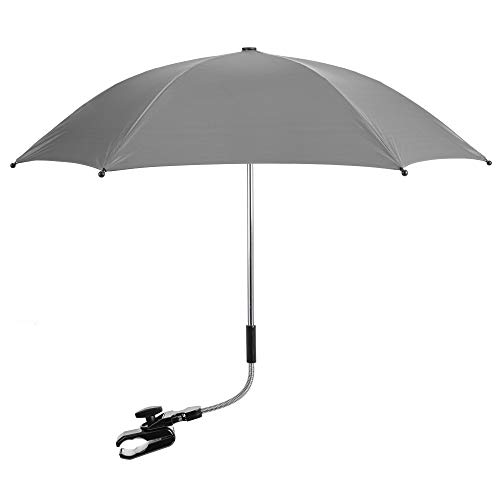 For Your Little One Compaitble with Baby Parasol Hauck Stroller Buggy Pram Grey