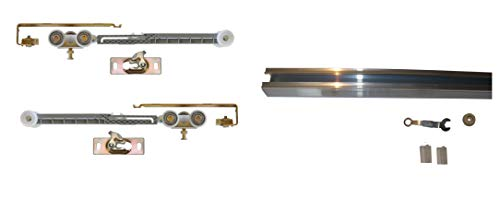 """Series 2- Pocket Door Track and Hardware Heavy Duty with Soft Close and Soft Open (36"""" Door- Track- 68 3/4"""")"""