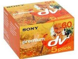 Sony DVM 60PR miniDV Premium 5x 60 min