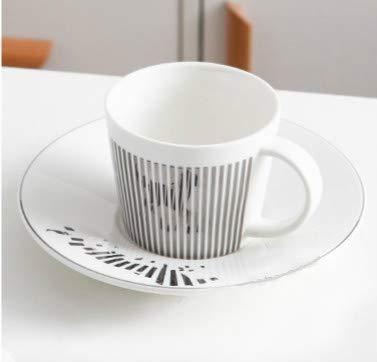 Tasse Kaffeebecher Kreative Leopard Anamorphic Cup Spiegel Reflection Cup Zebra Becher Luycho Kaffee Tee Set Mit Untersetzer 90Ml-220Ml, 220Ml