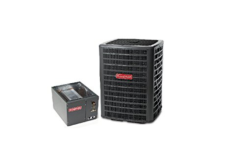 """Goodman 2.5 Ton 13 SEER AC R-410a with Upflow/Downflow Coil 14"""" wide model GSX130301/CAPF3030A6"""