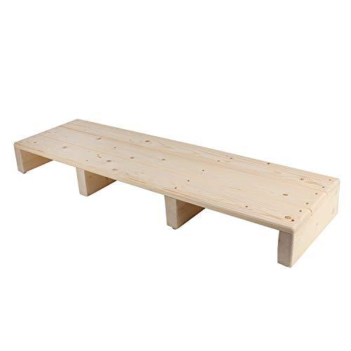 uyoyous 木製 玄関踏み台 玄関台ステップ 幅100x 奥行き30 x 高さ11cm 玄関スツール 天然木滑り止め 高齢者 子供 室内 室外 ステップ 踏み台