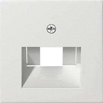 GIRA Serie Standard 55 - reinweiß glänzend (027003) Abdeckung f. UAE/IAE