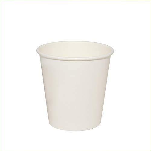 VIRSUS 300 Bicchieri in Carta per Acqua 180ml Colore Bianco biodegradabili cartoncino