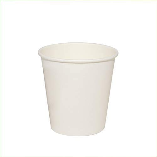 VIRSUS 300 vasos de papel para agua, 180 ml, color blanco, biodegradables,...