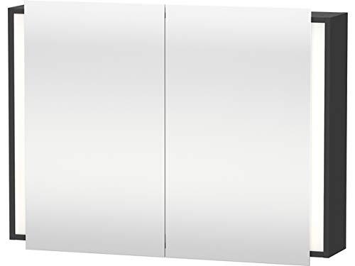 Duravit Spiegelschrank Ketho 180x100x750mm 2 Spiegeltüren, graphit matt, KT753204949