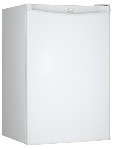 Danby DUFM032A3WDB 3.2 Cu.Ft. Upright Freezer with 2 Shelves, Garage Ready with Scratch-Resistant Worktop