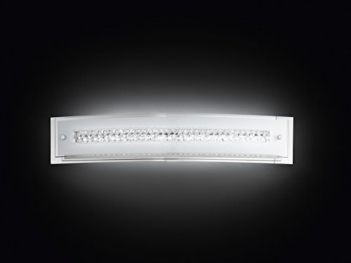 Applique a LED in vetro modello 6082 Lampada da parete con...