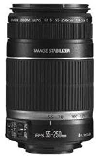 Canon EF-S 55-250mm f/4-5.6 is Telephoto Zoom AF (Renewed)
