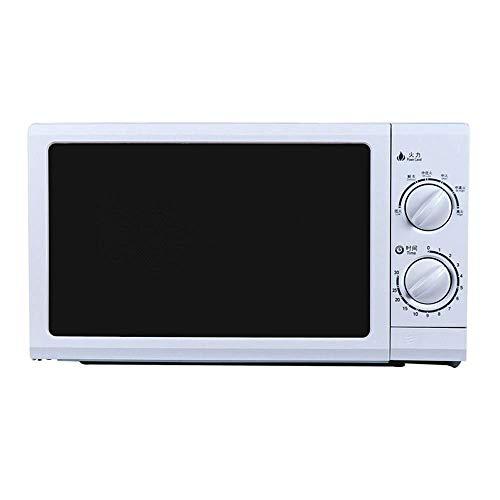700W Ménage micro-ondes Mini chronocommande mécanique multifonction Four à micro-20L avec minuterie de 30 minutes