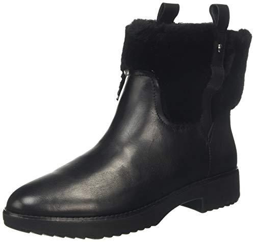 Fitflop Damen Mimie Kurzschaft Stiefel, Schwarz (All Black 090), 39 EU