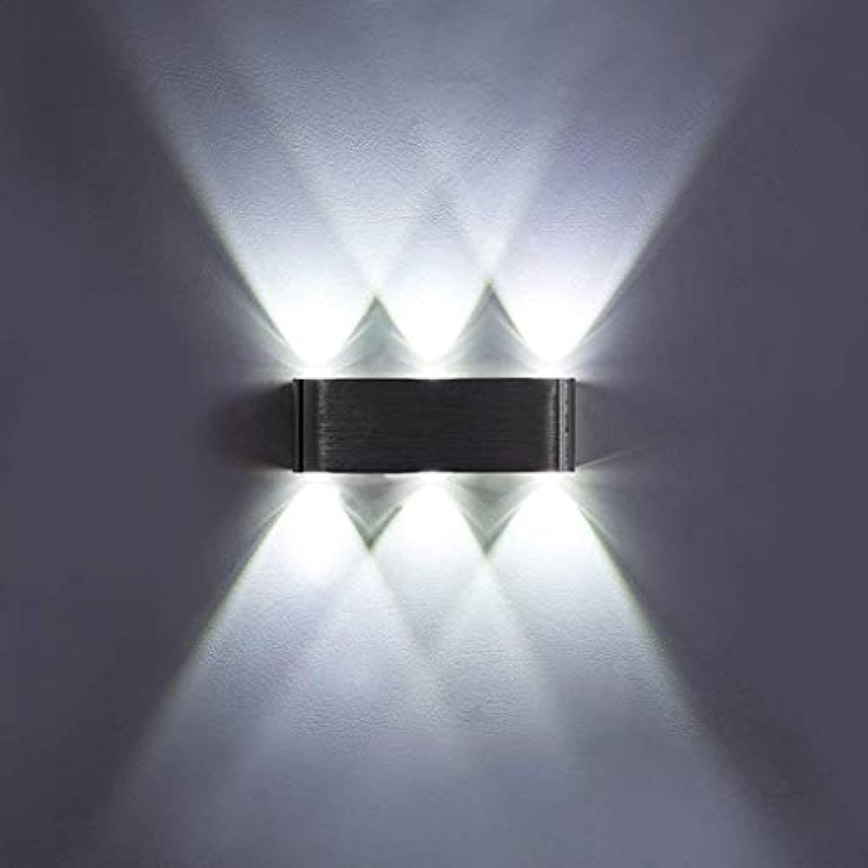 Wall Light Home Wandmontierte LED Wandleuchte Innenwandleuchte Schlafzimmer Nachttischlampe Garten Hotel Glow Wandleuchte 6 Watt 8 Watt Wandleuchte (Größe   Weiß Light-6w)