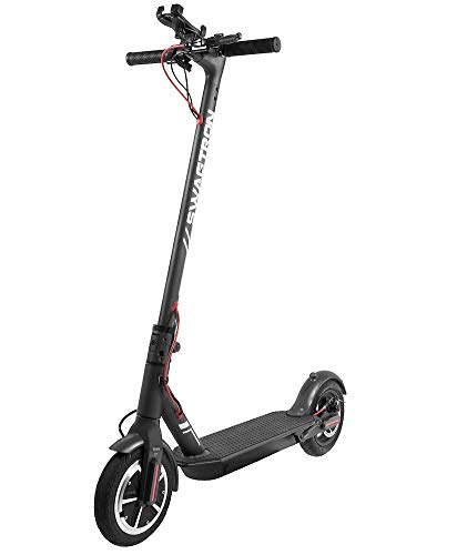 """Swagtron High Speed Electric Scooter with 8.5"""" Cushioned Tires, Cruise Control and 1-Step Portable Folding – Swagger 5"""