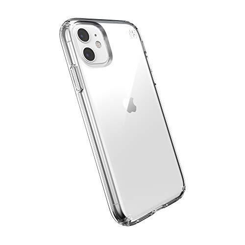 Speck iPhone 11 Schutzhülle Handyhülle Schützende Hülle Tasche Dünne Schale Hardcase Beständig für Apple iPhone 11 - Presidio Stay Clear - Transparent
