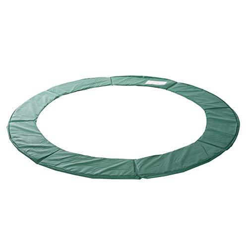 HOMCOM Cubierta de Protección Cojín Borde para Cama Elástica y Trampolines con Diámetro Ø244 cm Verde