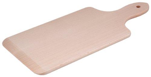 HOFMEISTER® Spätzlebrett Holz, 1 Stück, 35 cm, rechteckiges Nudelbrett aus Buche, für traditionellen Spätzle-und Nudelteig, langlebige Nudel und Spätzle-Hilfe, Teig kneten und in den Kochtopf schaben
