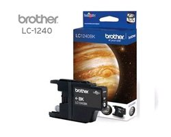 Brother LC-1240 BK Druckerpatrone schwarz mit einer Kapazität von ca. 600 Seiten für u.a. Brother MFC-J 5910 DW, MFC-J 6910, MFC-J 625, DCP-J 725, DCP-J 525, MFC-J 835