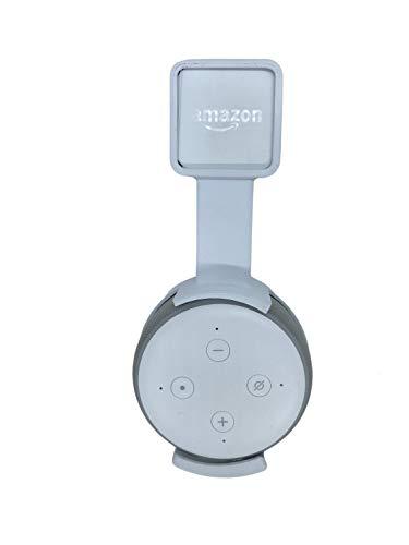 Suporte All in one Stand Tomada Amazon Alexa Echo Dot 3 box (branco)