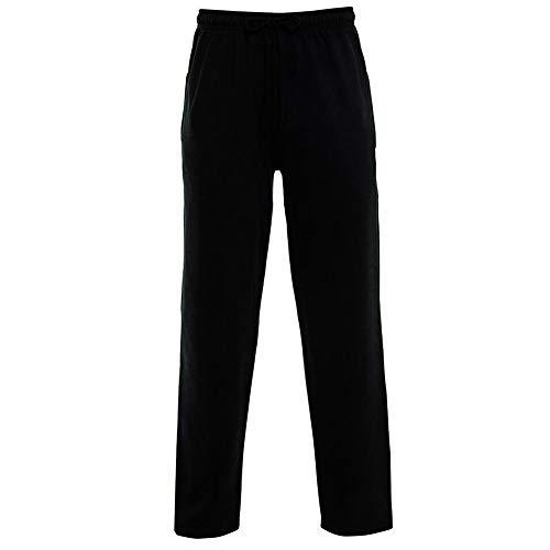 Parsa Fashions - Pantalón deportivo - para hombre Negro Negro ( 5XL