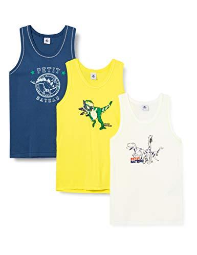 Petit Bateau 5447200 Camiseta sin Mangas, Multicolor (Variante 1 Zga), 2 años para Niños