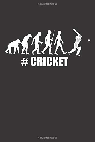 #Cricket: Evolution | Small squared Notebook (6