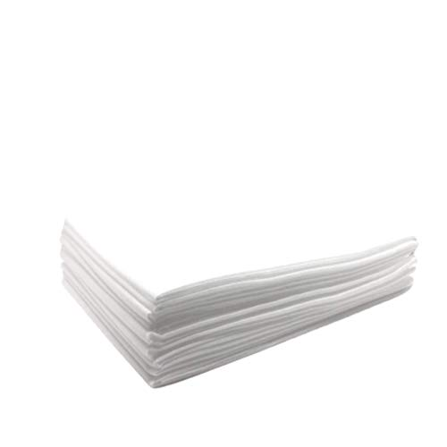 Physiofit24 Waschfaserlaken 20 Stück 100x200 cm Waschfaserlaken Vlieslaken Soft Hygiene-Auflage Waschvlieslaken Laken für die Massageliege