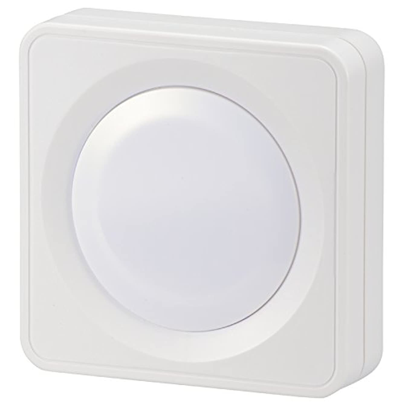 称賛渦悲観主義者オーム電機 LEDプッシュライト 単3形×3本 白色LED NIT-BLA6PH-WN