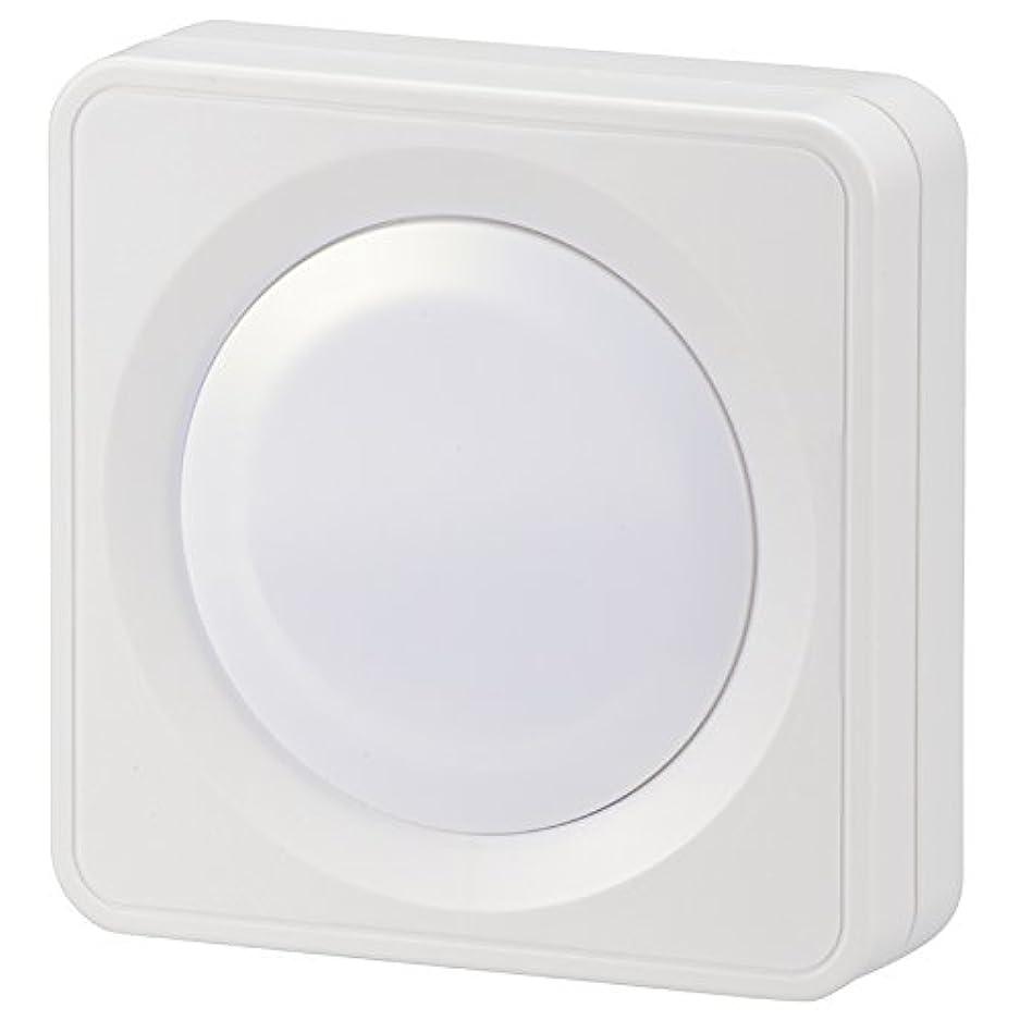 下位プロジェクターエスカレートオーム電機 LEDプッシュライト 単3形×3本 白色LED NIT-BLA6PH-WN
