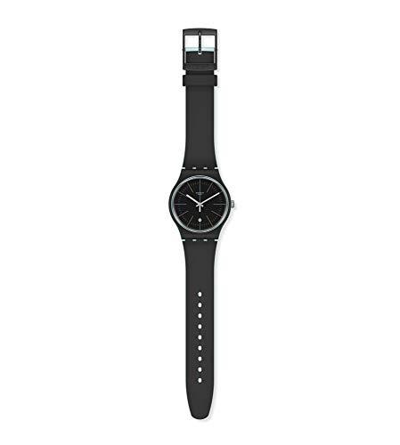 Swatch Reloj Analógico para Hombre de Cuarzo con Correa en Silicona SUOS402