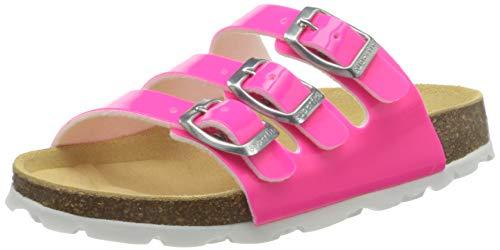 Superfit Mädchen Fussbettpantoffel Pantoffeln, Pink (Rosa 57), 31 EU