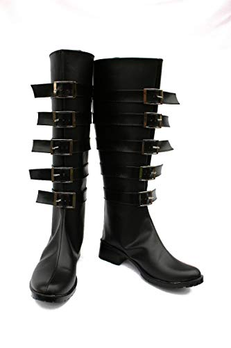 Alice Madness Returns Cosplay Boots Shoes For Adult Women Halloween Christmas Party Boots 46