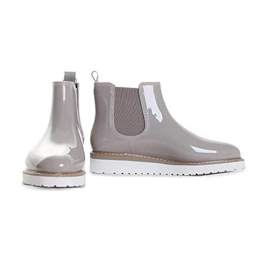 COUGAR Women's Kensington Rain Boot, Dove, 10 M US