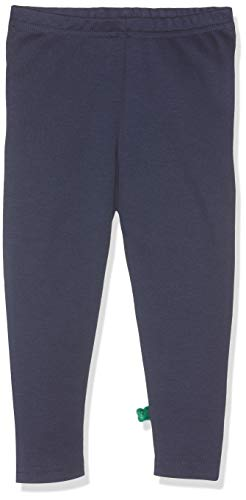 Fred'S World By Green Cotton Star Solid Leggings Baby Bleu (Navy 019392001), 68 Bébé garçon