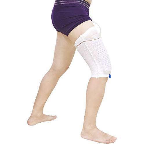 Beinbeutel für Urin Beinhalter Harninkontinenz Bein Tasche Halter Zubehör Komfortabel Beinbeuteltasche Carebag waschbar und wiederverwendbar (2 Stück)-XL