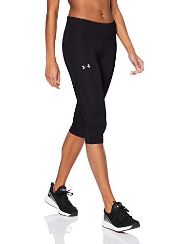 Under Armour Fly Fast Speed Capri, Mujer, Negro, MD