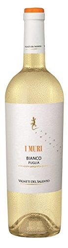 6x 0,75l - 2018er - Vigneti del Salento - I Muri - Bianco - Puglia I.G.P. - Apulien - Italien - Weißwein trocken