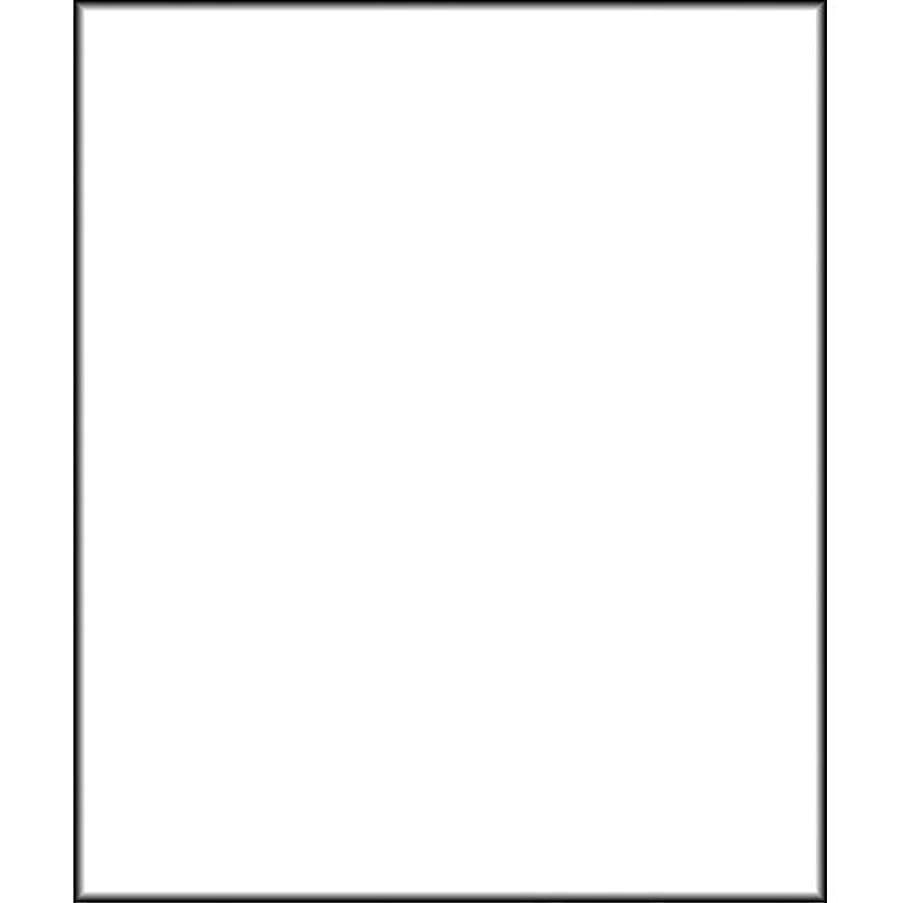 Polaroid Pro Studio White Premium Muslin Backdrop (10' x 16.5')