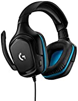 Logitech G432 Wired Gaming Headset, 7.1 Surround Sound, DTS Headphone:X 2.0, 50 mm Audio Drivers, USB and 3.5 mm Audio...
