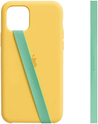 Sinjimoru Silicone Stretching Strap as Phone Grip Holder Slim Grip Tape for iPhone Case Secure product image