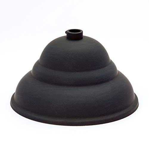Messing Baldachin flämisch schwarz Ø 110mm x 60mm 10er Stellring Rosette Deckenbaldachine, Lampenbaldachin, Leuchtenbaldachin und Metallbaldachin