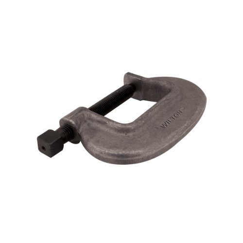 Wilton 14554 4-Fc, 'O' Series Bridge C-Clamp-Full Closing Spindle, 0-Inch-4-1/2-Inch Jaw Opening, 2-3/4-Inch Throat Depth