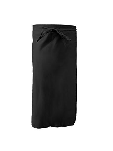 Grevotex Kellnerschürze 95x100 cm schwarz (viele Farben) Barschürze Grillschürze